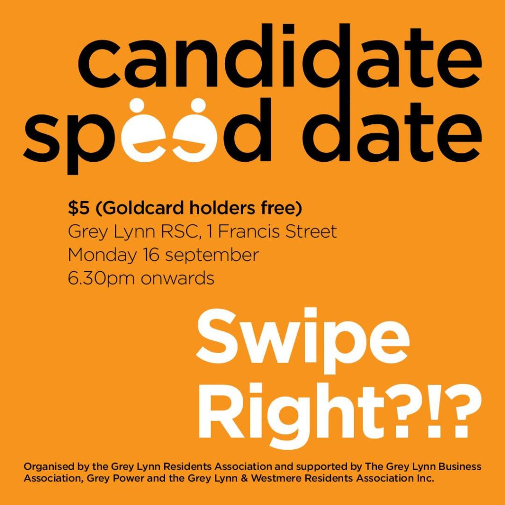 Candidate Speed Date - Swipe Right?!? | Monday 16 September
