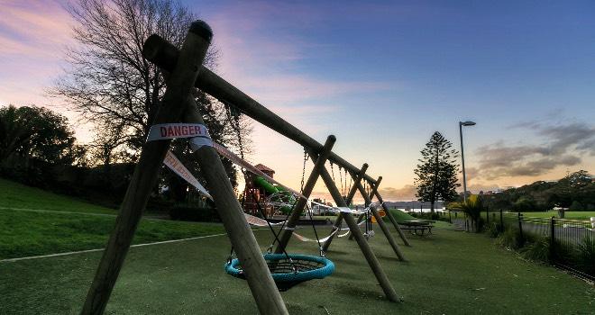 Grey Lynn News - Cox's Bay playground