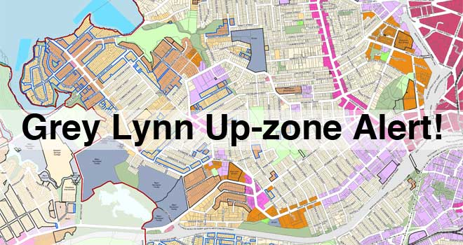 Grey Lynn up-zone alert!