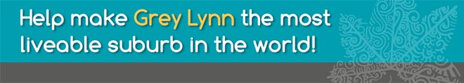 Help make Grey Lynn the most liveable suburb in the world