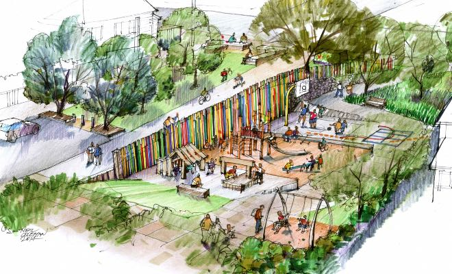 Grey Lynn News - Home Street Reserve Playground