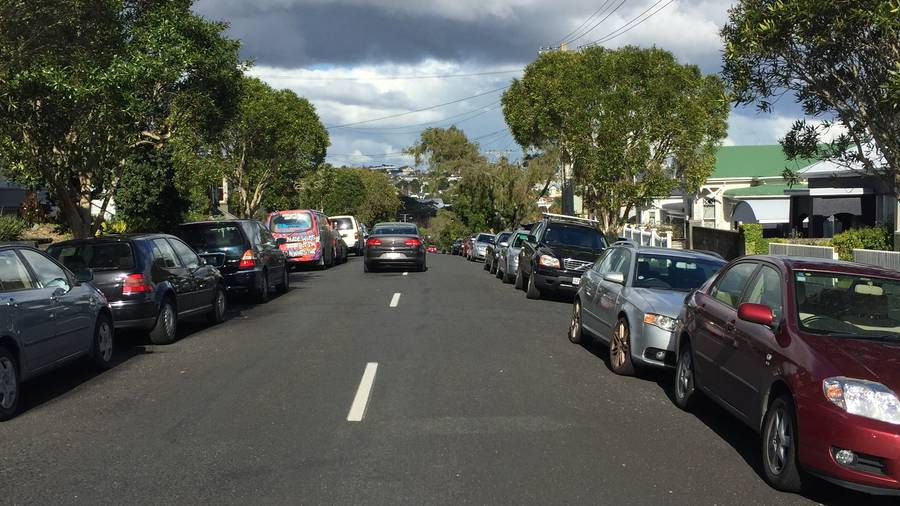 These parking problems are why we need residential parking zones