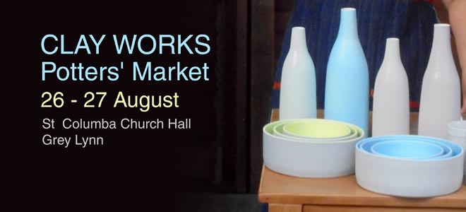 St Columba clayworks fundraiser