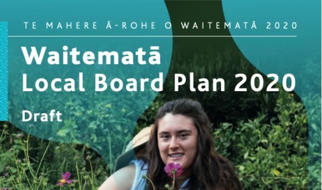 Waitemata Local Board Plan 2020